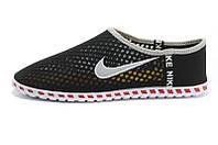 Кроссовки летние Nike Free черные, фото 1