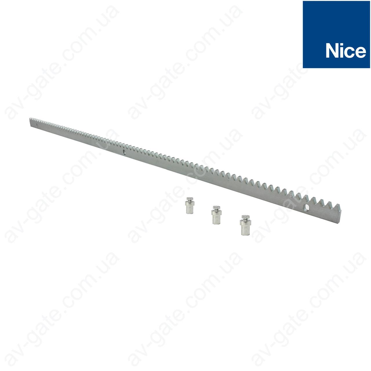 Оцинкованная зубчатая рейка Nice ROA8