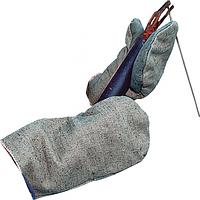 Рукавицы брезентовые ОП с двойным налодонником