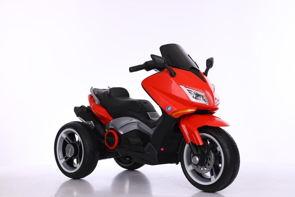 Детский мотоцикл Tilly T-7223, красны