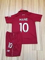 Детская футбольная форма Ливерпуль Mane (Мане)  2018-2019 основная красная