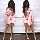 Женский стильный костюм: пиджак и юбка (расцветки), фото 3