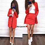 Женский стильный костюм: пиджак и юбка (расцветки), фото 7