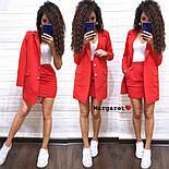 Женский стильный костюм: пиджак и юбка (расцветки), фото 6