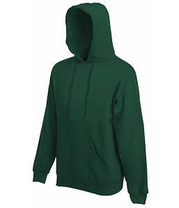 Мужская толстовка с капюшоном S, 38 Темно-Зеленый