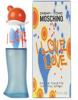 Женская туалетная вода Moschino Cheap and Chic I Love Love