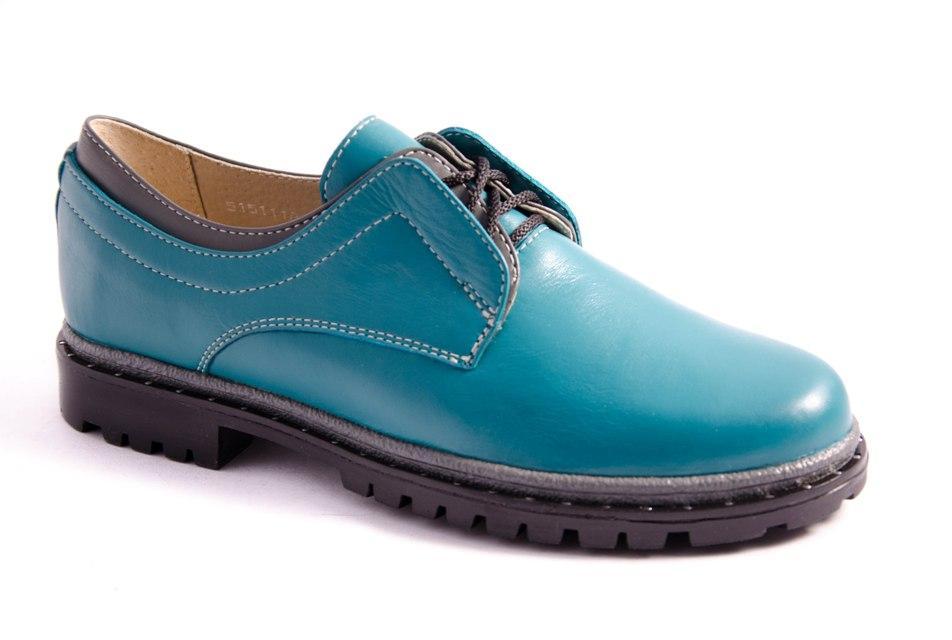 Туфли женские зеленые Romani 5151118 р.36-41