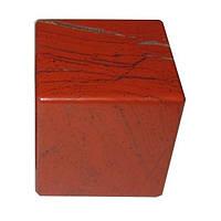 Куб из красной яшмы, фото 1