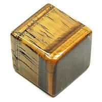 Куб из тигрового глаза, фото 1