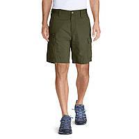 Шорты Eddie Bauer Mens Versatrex 11 Cargo Shorts Solid DK THYME 32 Темно-зеленые 8040DKTE-32, КОД: 275704