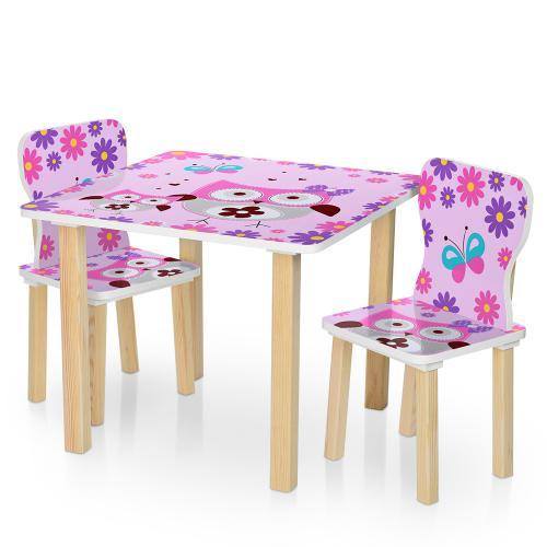 Столик 506-62 Розовый BAMBI