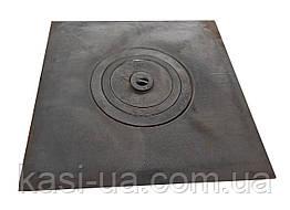 Плита чугунная печная однокомфорочная  ПДО (620 х 620 мм.)