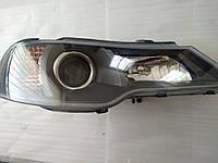Фара передняя правая под электрокорректор Нексия нов.обр. (N-150) grog Корея