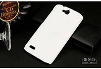Чехол накладка бампер для Huawei Honor 3C Lite белый