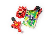 ✅ Монкарт, трансформер іграшка, колір – Червоний, робот з мечем, копія, Monk art, робот трансформер