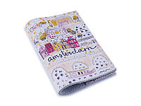 Кожаная обложка для паспорта/загранпаспорта -Amsterdam-