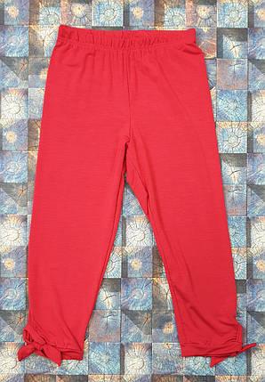 Детские лосины  р.116-134 красный, фото 2