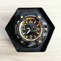 Часы наручные Casio G-Shock GWG-1000 Black-Gold-Black New (Реплика А)