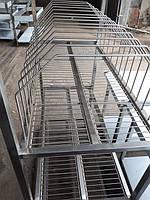 Стеллаж сушка для инвентаря досок посуды из нержавейки - мебель из нержавейки