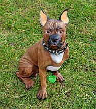 Садовая фигура Собака Боксер, фото 2