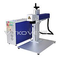Настольный волоконный лазерный маркер JN-203 (100x100), 20W
