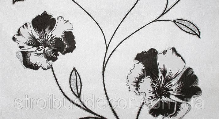 Обои бумажные Шарм 0,53*10,05 с крупным цветком Калипсо