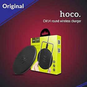 Беспроводное зарядное устройство Hoco CW14 round wireless charger ORIGINAL