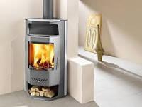 Отопительная печь камин на дровах Haas+Sohn Bergamo mini