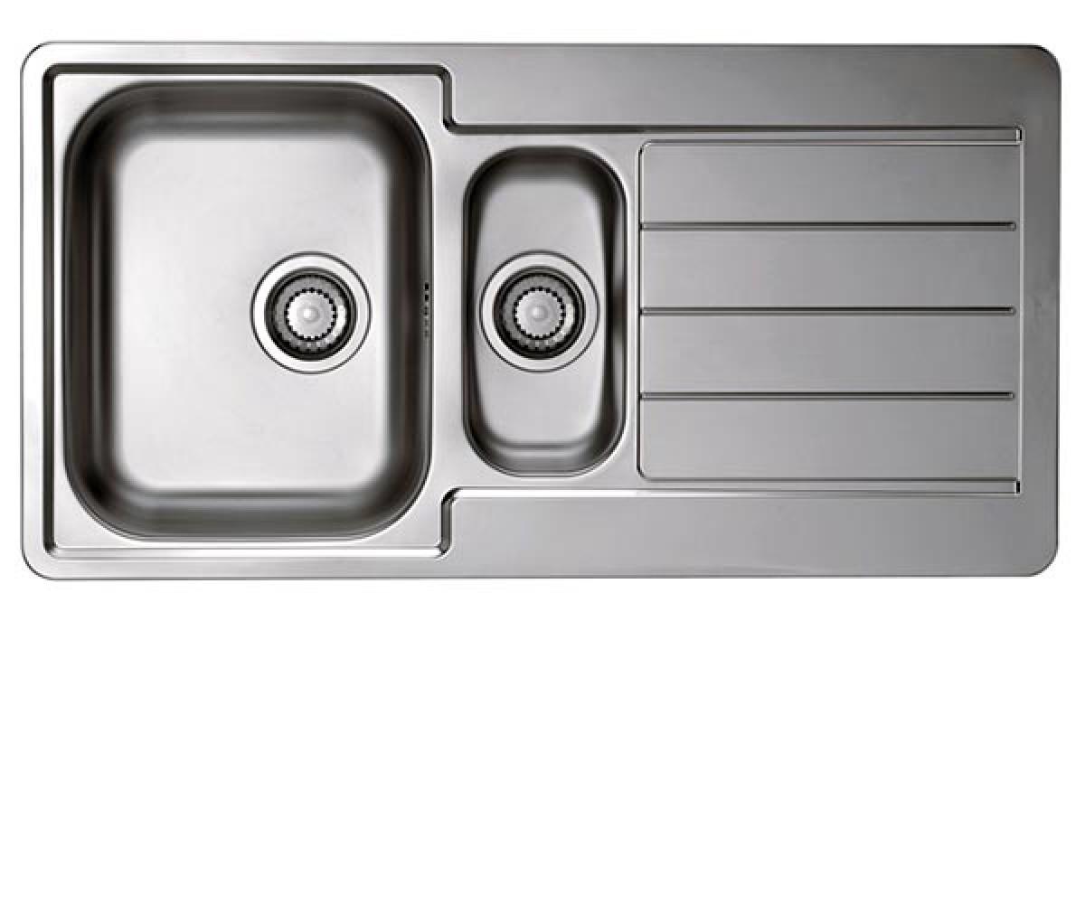 Кухонная мойка Alveus Line 10 (Нержавейка) (с доставкой)