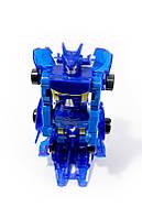 🔝 Монкарт, робот машинка трансформер (Синий) - Monkart копия с доставкой по Украине и Киеву | 🎁%🚚