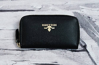 Кожаный кошелек-ключница Bretton FIJI-WKF-1 black
