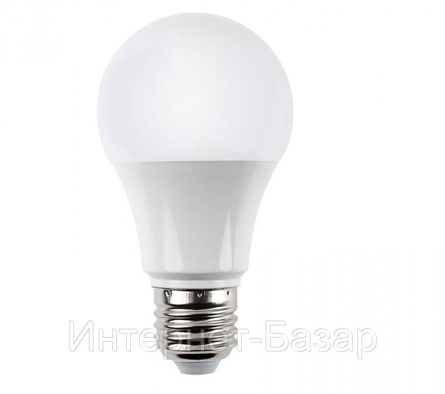 Светодиодная лампа 9Вт BULB9W E27 3000K