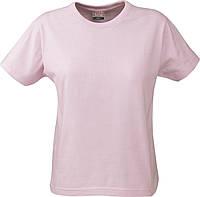 Женская футболка Ladies Heavy T-shirt от ТМ Printer (цвет ярко-розовый)