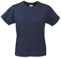 Женская футболка Ladies Heavy T-shirt от ТМ Printer (цвет темно-синий)