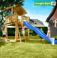 Игровой комплекс для улицы Jungle Chalet от Jungle Gym
