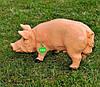 Садовая фигура Свинья большая и Кабанчик средний, фото 4