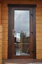 Входные ламинированные металлопластиковые двери  Steko