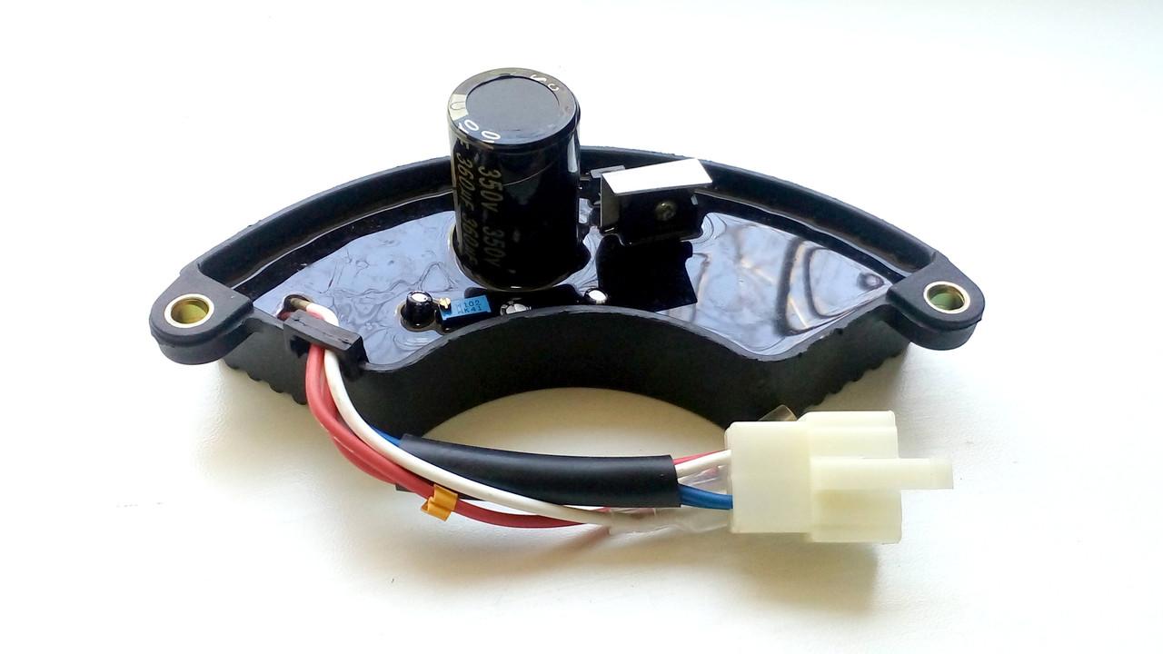 Авто регулятор напряжения генератора 5-6 кВт (350V/360mF) 6 проводов