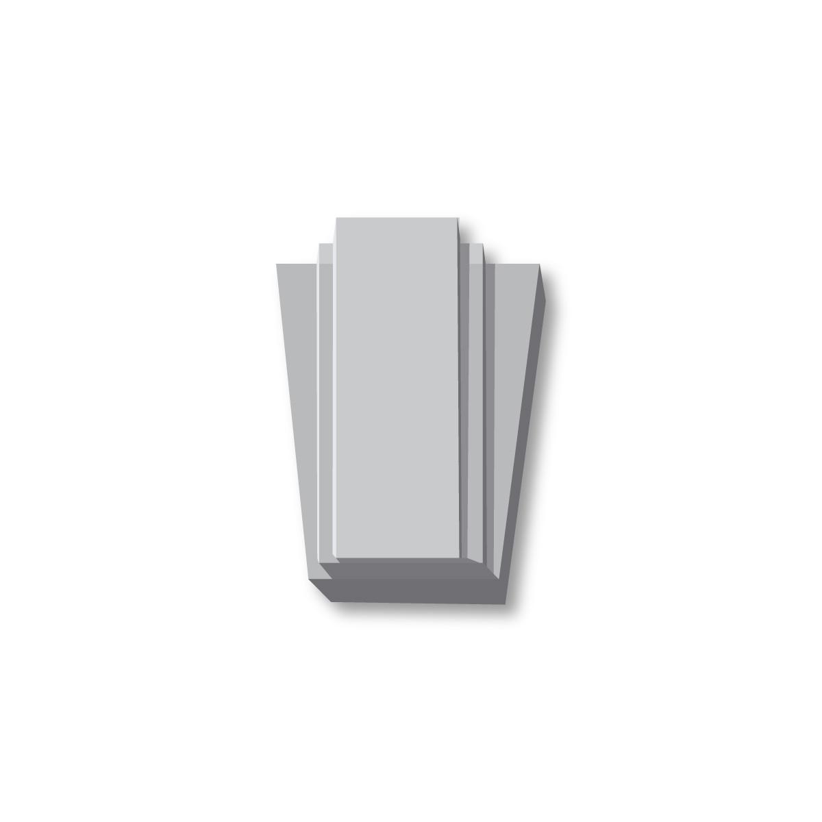Середник з гіпсу з-102 һ420х265мм