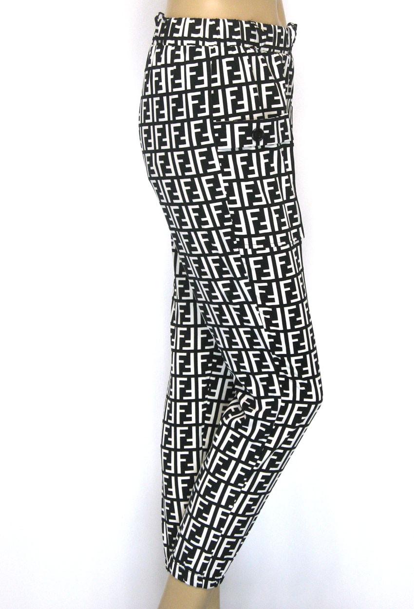 Жіночі літні штани на резинці з накладними кишенями