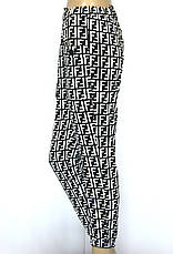 Жіночі літні штани на резинці з накладними кишенями, фото 3