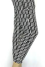 Жіночі літні штани на резинці з накладними кишенями, фото 2