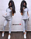 """Женский стильный костюм: футболка и штаны с лампасами """"I'm brilliant"""" (расцветки), фото 4"""