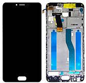 Дисплей Meizu M5 complete with frame Black