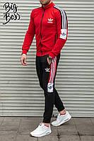 Мужской спортивный костюм adidas реплика без капюшона