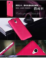 Чехол накладка бампер для Meizu M1 Note малиновый, фото 1