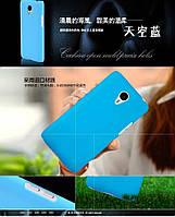 Чехол накладка бампер для Meizu M1 Note бирюзовый, фото 1