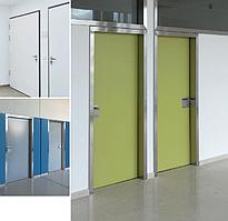 Soleco розпашні медичні двері з ПВХ кромкою, 1 стулка