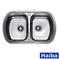 Мийка кухонна Haiba HB800*490 Decor, фото 1