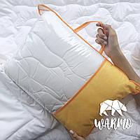 Комлект Одеяло + Толстая подушка в детскую кроватку (Итальянский батист + Искусственный лебединый пух)